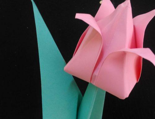 "Warsztaty origami ""Tulipan na8 marca"""