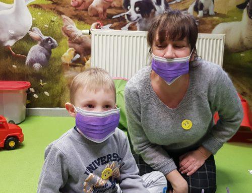 Wizyta przedszkolaków wgabinecie stomatologicznym